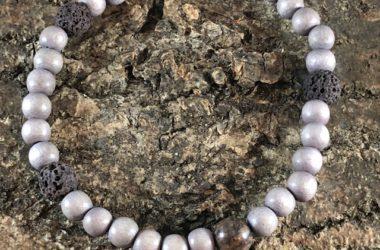 Ademkransje Bruine obsidiaan main