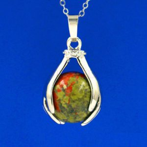 Ketting World Peace Unakite