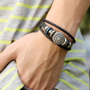 Unisex armband Wheel of Fortune