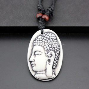 Veterketting Buddha White