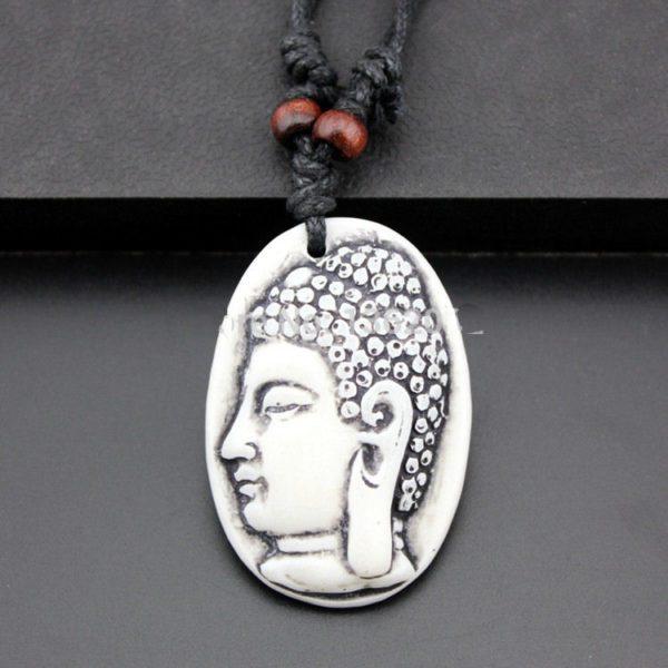Veterketting Buddha White