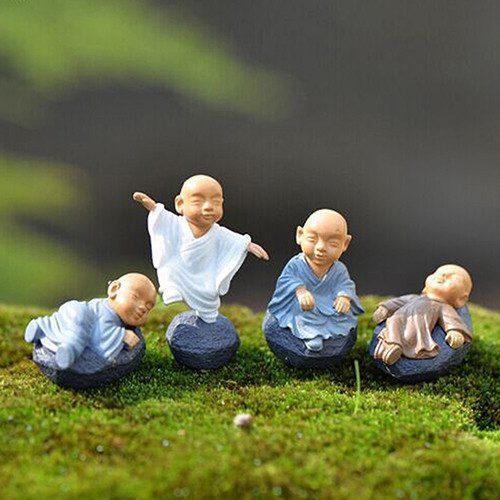 Zen Art Beeldjes Buddha Set van 4