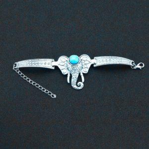 Armband Turquoise Olifant