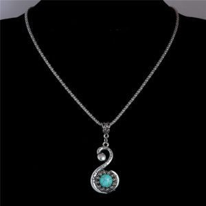 Ketting Turquoise Series S Hanger